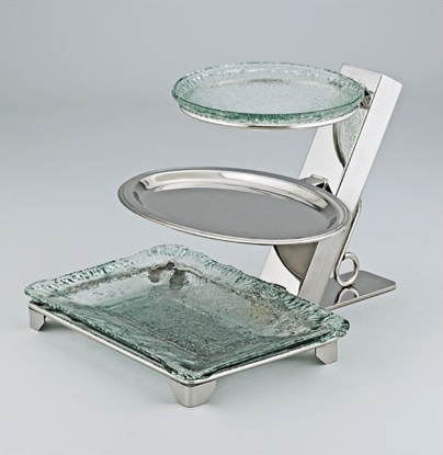 3 Tiered Multi Style Platter Stand