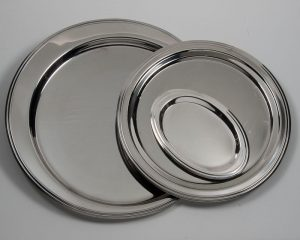 Round and Oval Border Trays