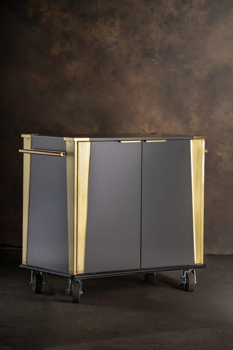 Slim Jim Cart Brass Corners