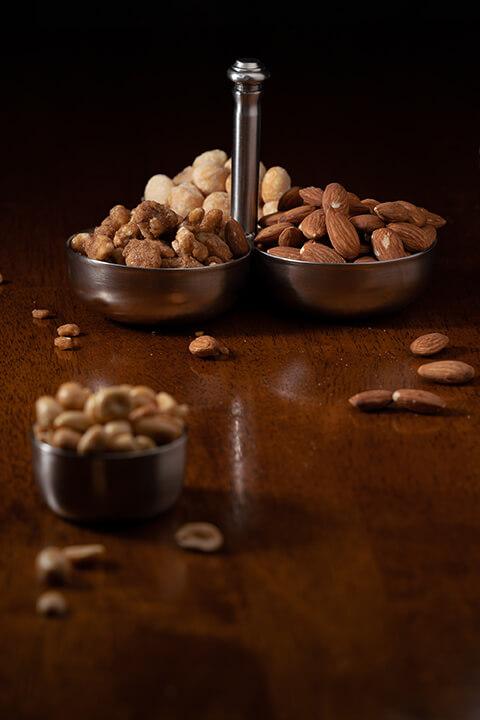 Three Compartment Nut Dish