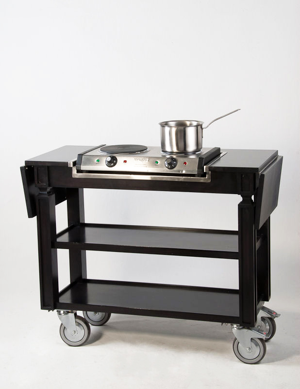 Guerridon with Stove