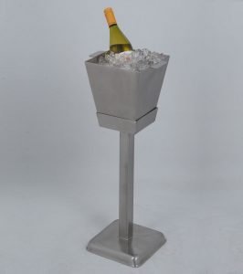 Square Wine Cooler and Stand